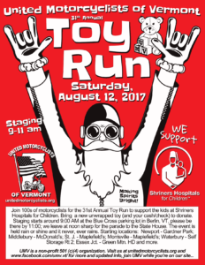 UMV 2017 Toy Run