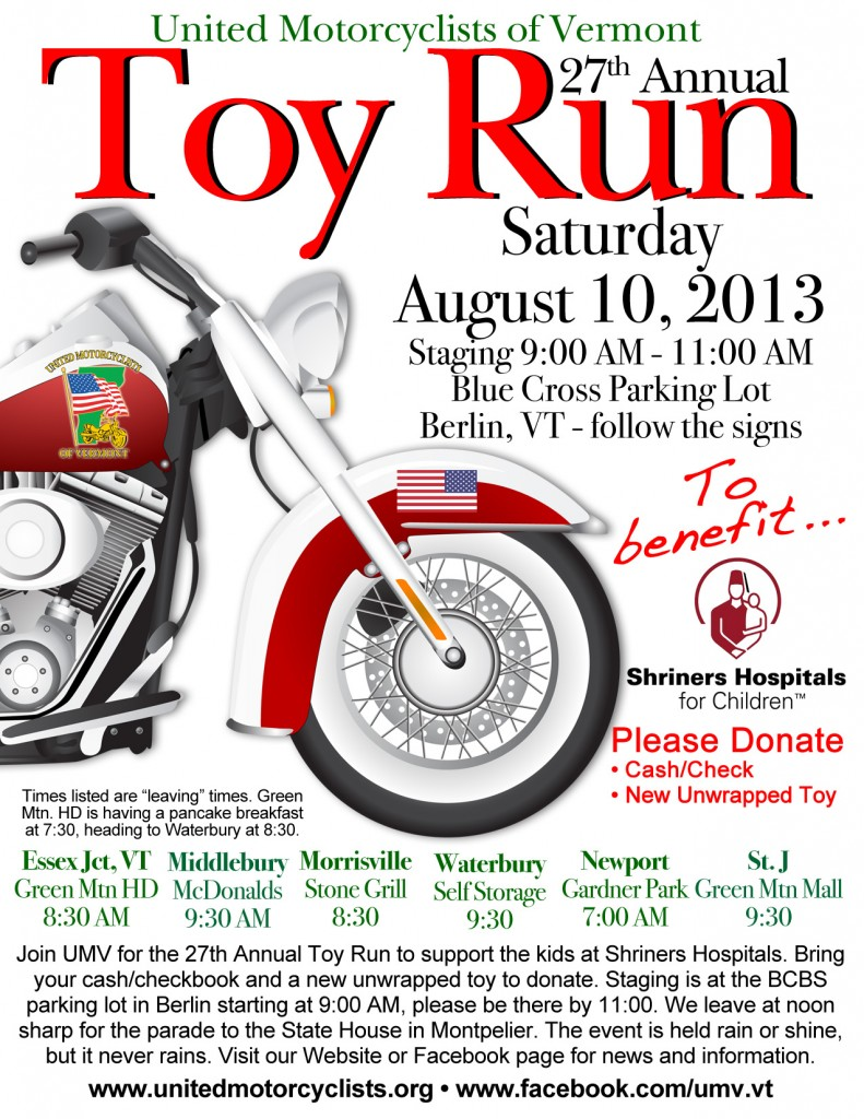 UMV Toy Run 2013