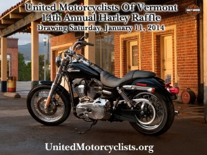 UMV Harley Raffle January 11, 2014