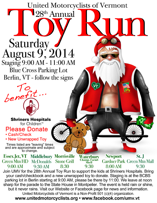 UMV Toy Run 2014