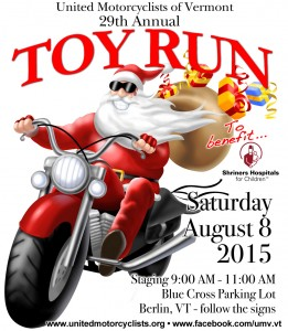 29th Annual United Motorcyclists of Vermont Toy Run