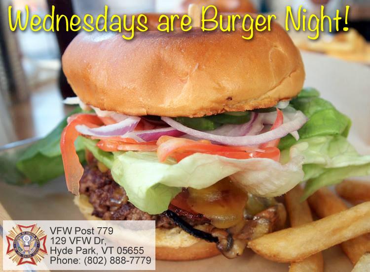 VFW Burger Night