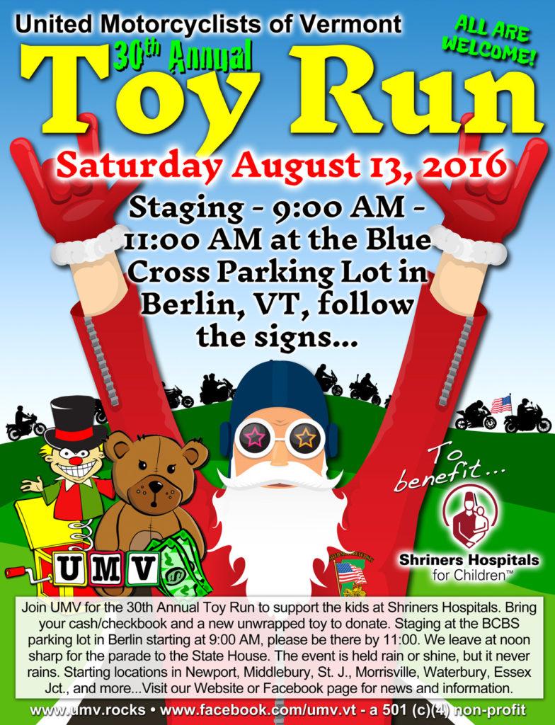 UMV 2016 Toy Run