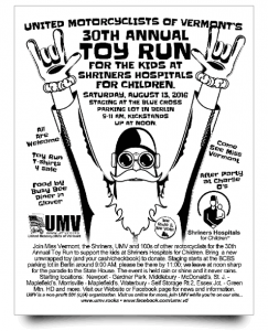 Print your own 2016 Toy Run flyer