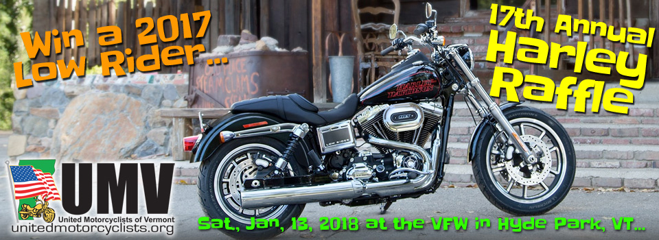 UMV Harley Raffle 2018