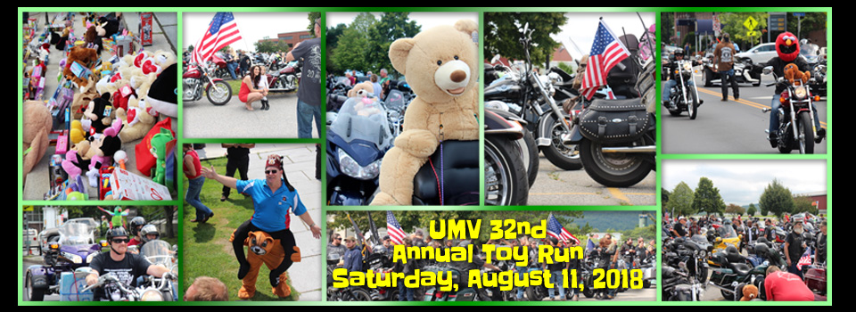 United Motorcyclists of Vermont 2018 Toy Run